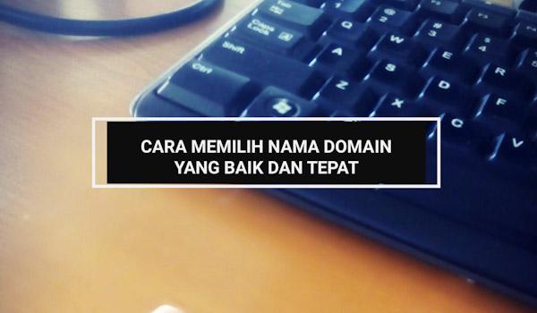 memilih domain untuk blog
