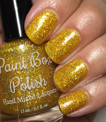 Paint Box Polish: Westerosi Collection  - Gold Shall Be Their Crowns