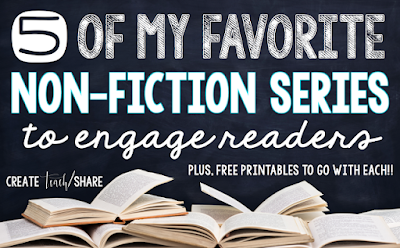 5 favorite non-fiction series for engaging readers.