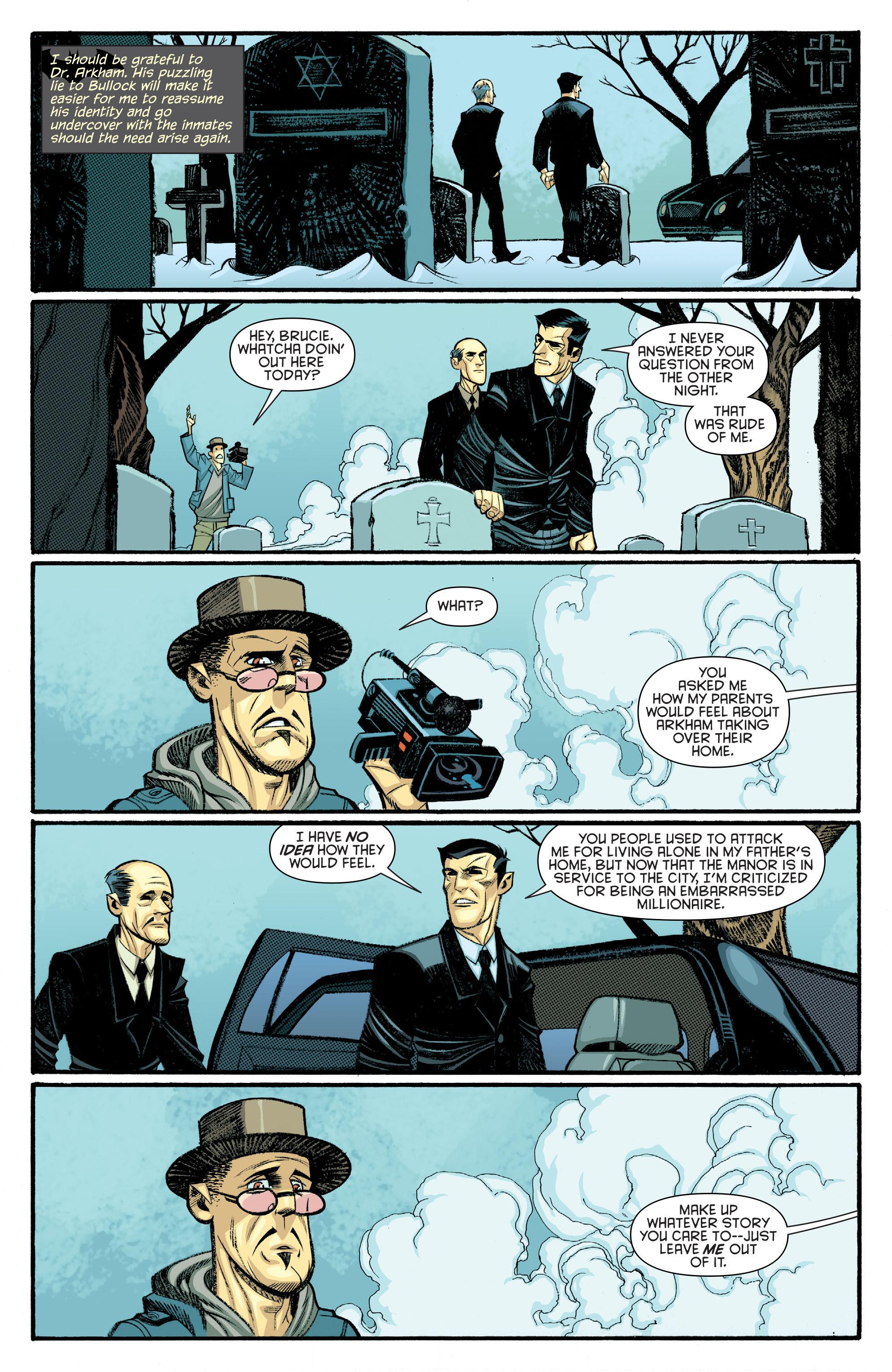 Read online Arkham Manor comic -  Issue #6 - 13