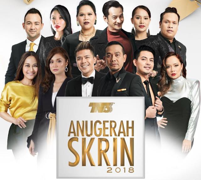 Senarai Pemenang Anugerah Skrin 2018