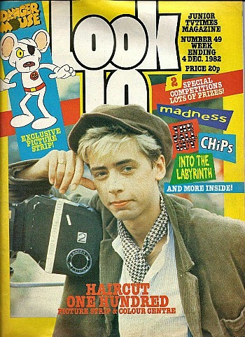 look-in magazine Dec 1982 - Nick Heyward
