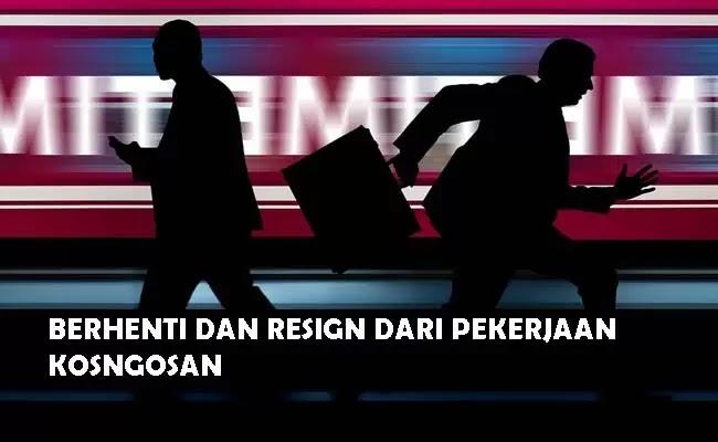 cara resign kerja