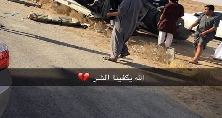 فيديو جديد يظهر لحظة مقتل أشهر مفحط سعودي كنق النظيم