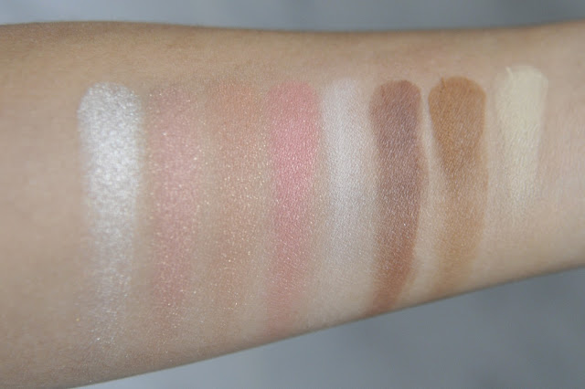 SEPHORA COLLECTION the Surprising Palette Blush and Contour Swatches