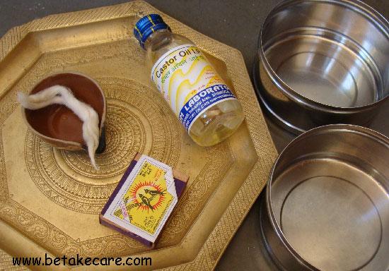 How to make kajal at home?