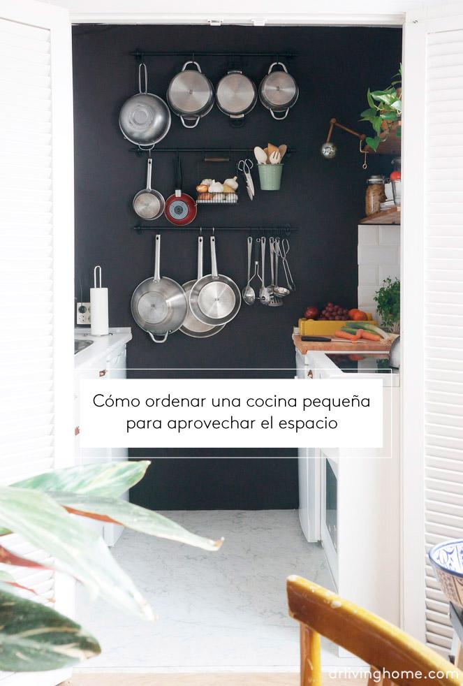 C mo ordenar una cocina peque a para aprovechar el espacio - Como decorar tu cocina ...