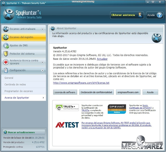 SpyHunter Malware Security Suite 4 imagenes