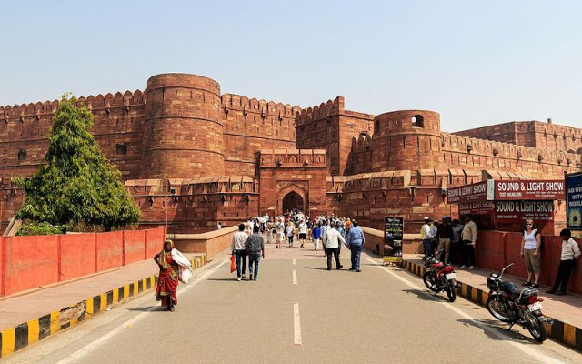 UNESCO World Heritage Sites, India - Agra Fort