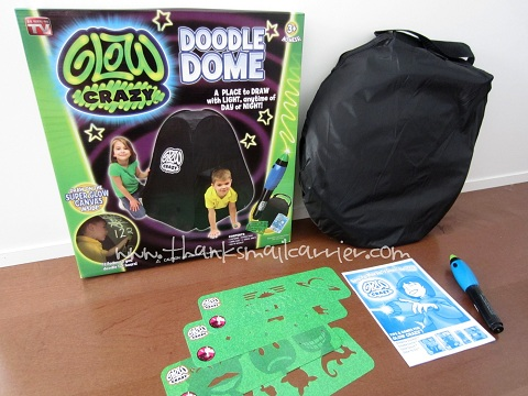 Glow Crazy Doodle Dome review & Thanks Mail Carrier | Glow Crazy Doodle Dome Review u0026 Giveaway
