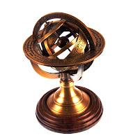 Astrolábio em forma de globo