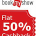 BookmyShow – Get 50% Instant Discount on Movie Tickets + 50% Cashback via Amazon Pay