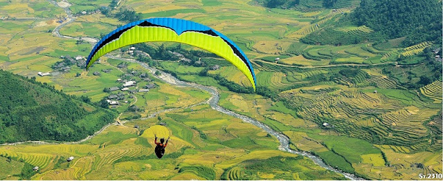 "Paragliding  Festival ""Fly on the golden season 2018 "" will take place in Yen Bai"