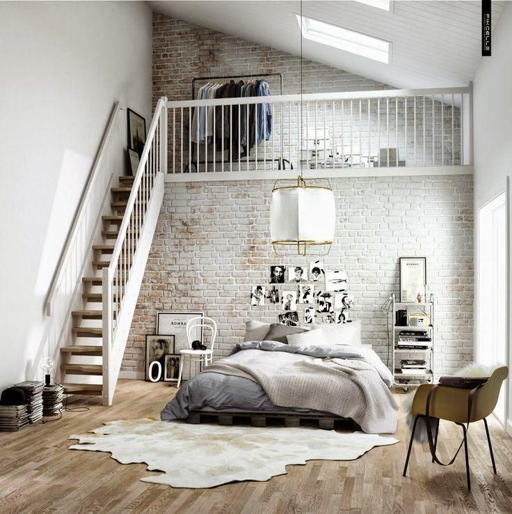 Cosy cowhide rugs on wooden floors in the bedroom, floor design