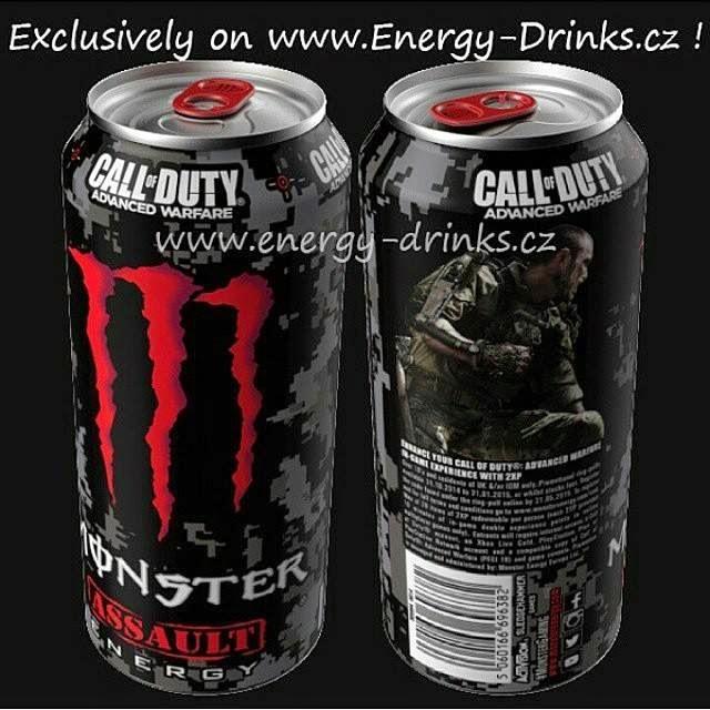 monster energy cod