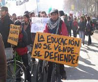 Nuevas protestas contra las exclusiones en la educación en Chile