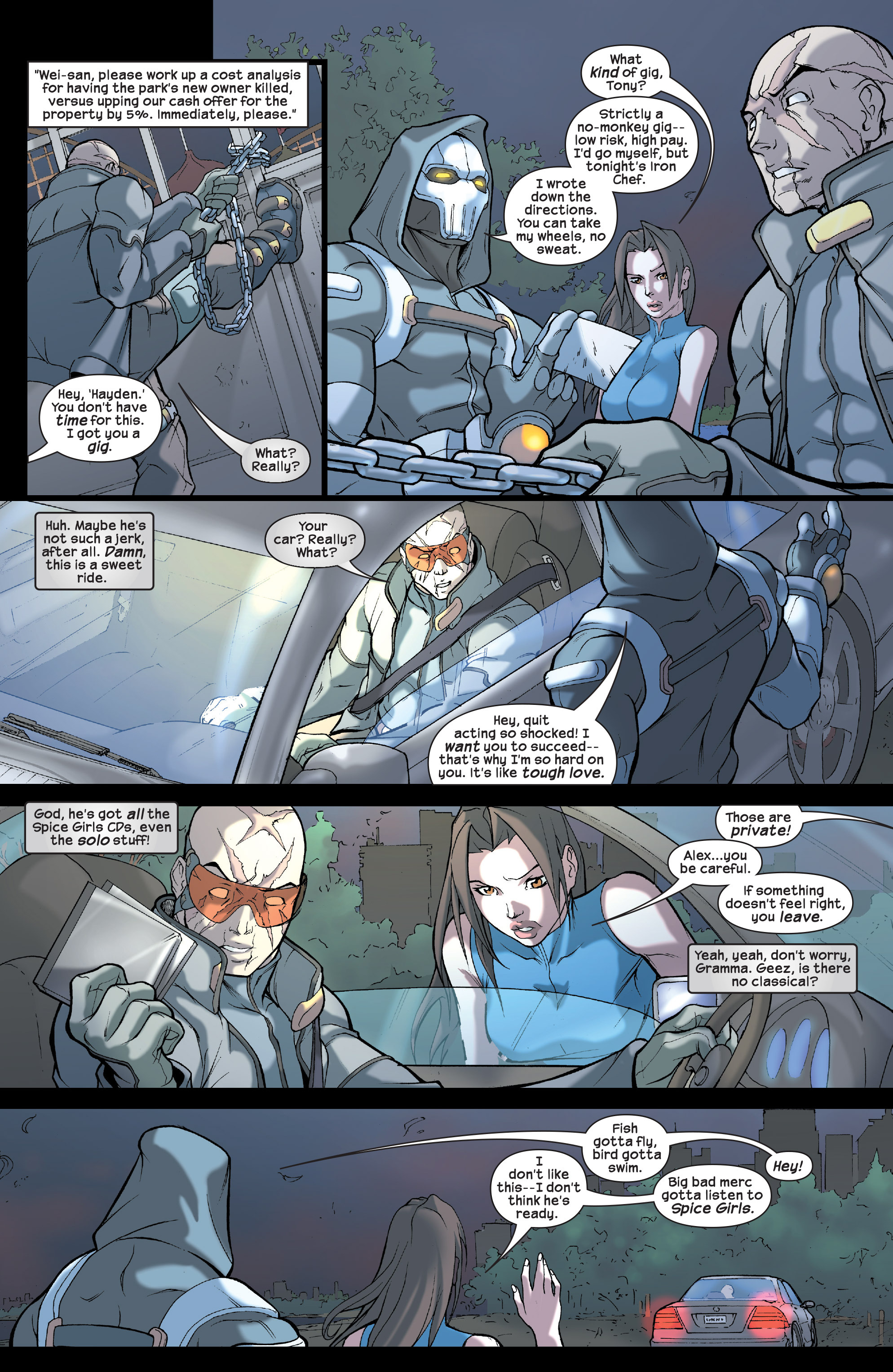 Read online Agent X comic -  Issue #2 - 6