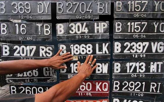 Kumpulan Arahan Plat Nomor Kendaraan Lengkap Dengan Kotannya