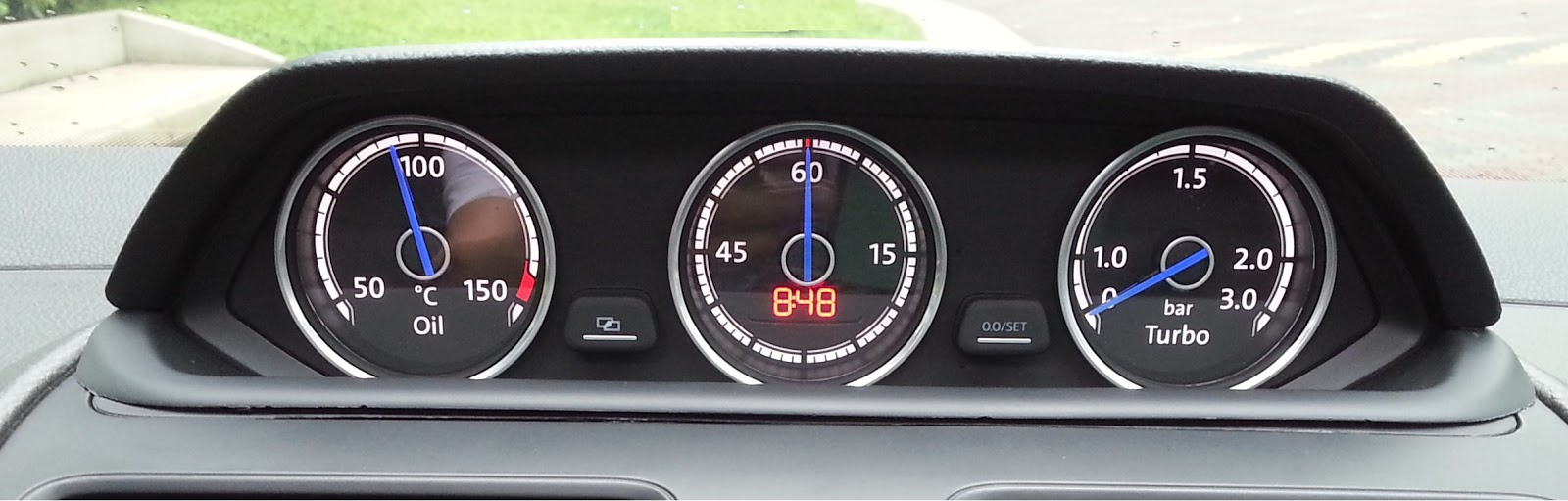 cbx rns accessories auxiliary cluster  golf mk gti