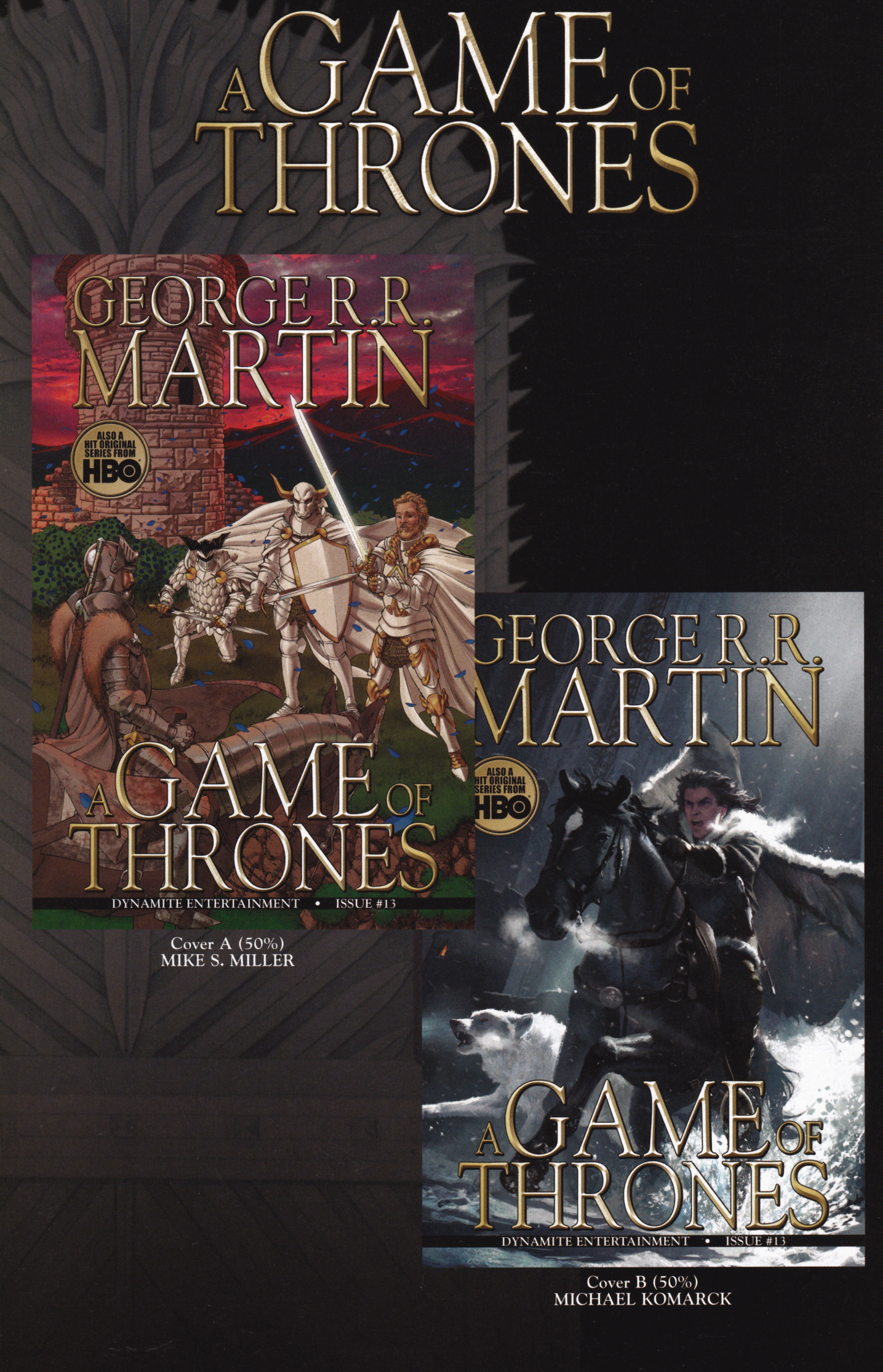 Read online A Game Of Thrones comic -  Issue #13 - 34