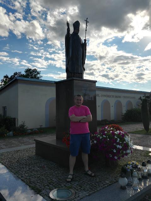 Pomniki Jana Pawła II - Brańszczyk.