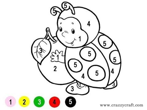 Coloring By Numbers Print Out The Templates And Paint For