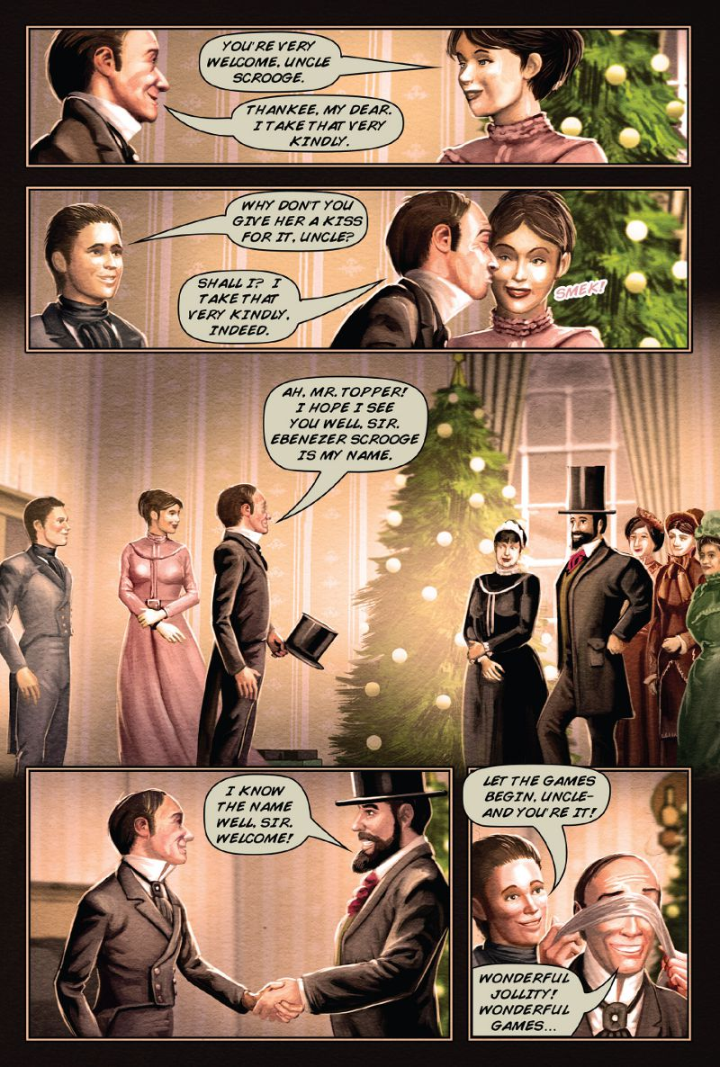 page 56 a christmas carol graphic novel