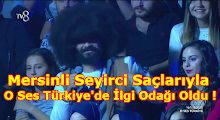 Mersinli Seyirci Saçlarıyla O Ses Türkiye İlgi Odağı Oldu !