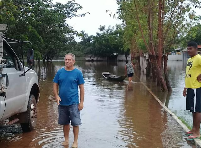 Nina Rodrigues (MA), cheia no Rio Munim, abril de 2019 (img3)