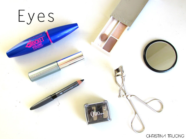 What's In My Makeup Bag Eyes