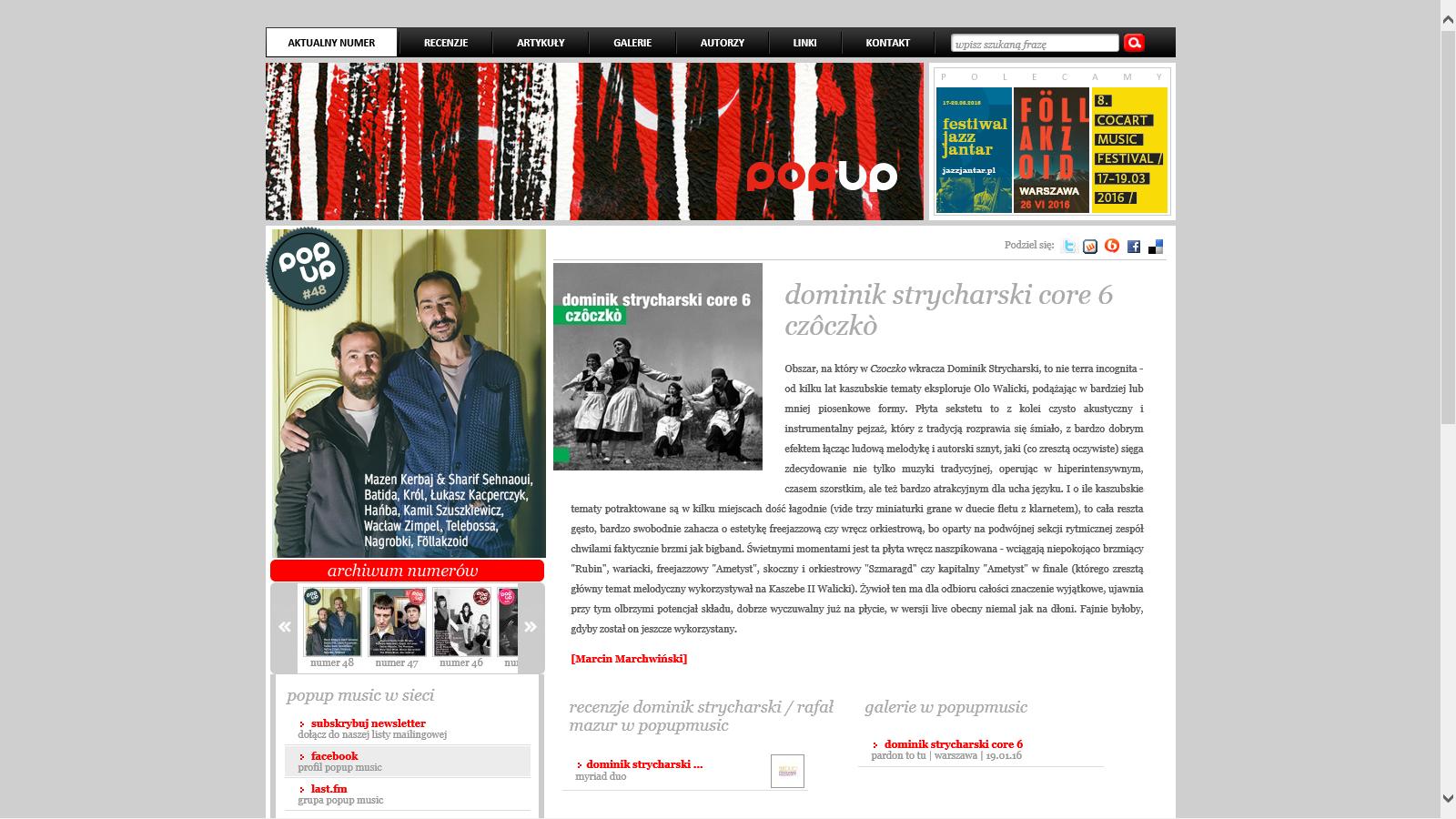 Dominik Strycharski - Rafal Mazur - Myriad Duo