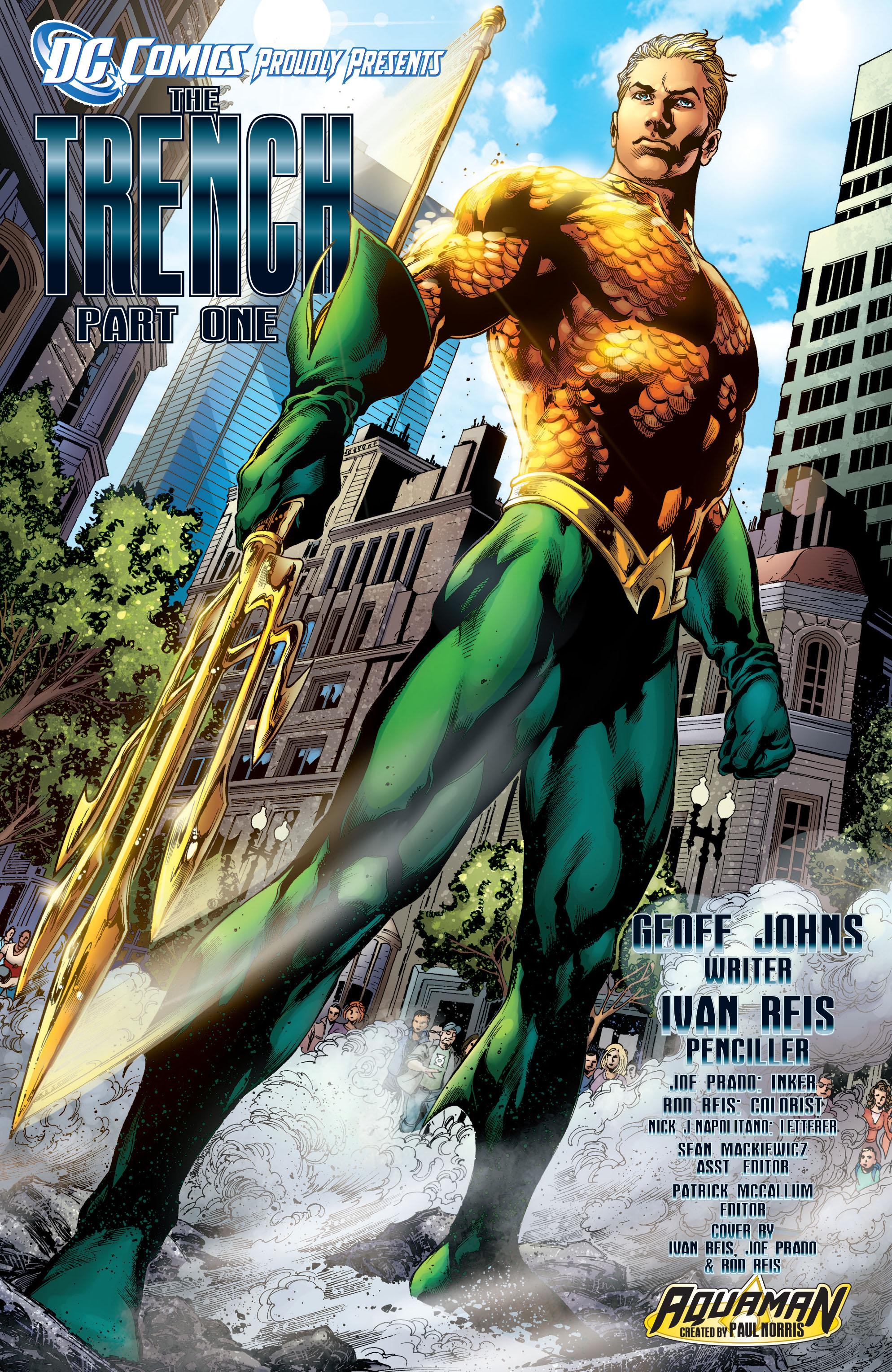 Read online Aquaman (2011) comic -  Issue #1 - 6