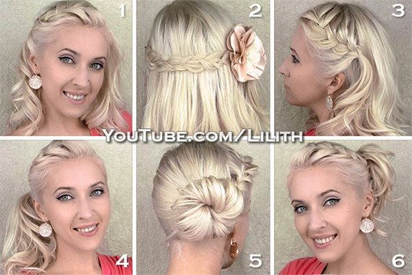 Lilith Moon: Everyday hairstyles for medium/long hair. Quick ...