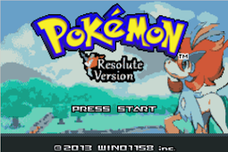 Pokemon Resolute Version GBA Latest Free Download
