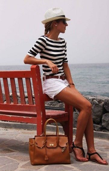 20 Style Tips On How To Wear A Striped Shirt This Summer