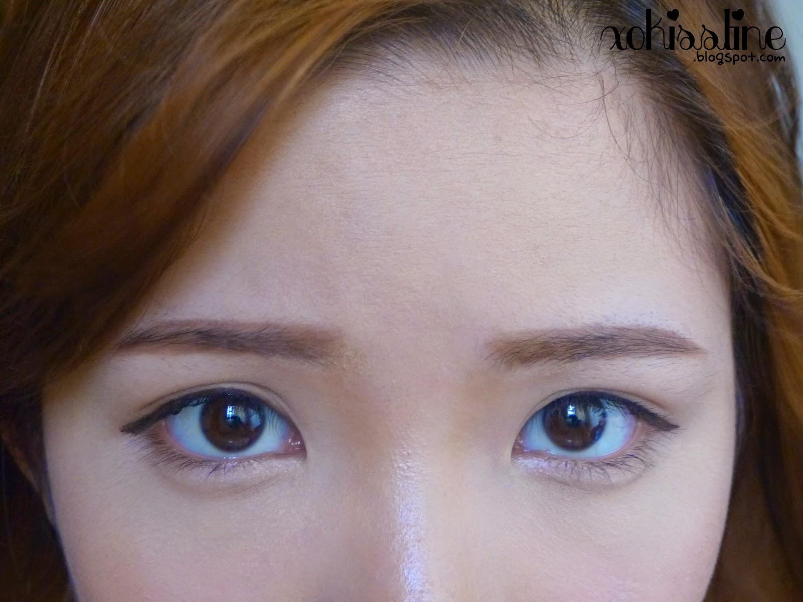 Korean Straight Eyebrows Tutorial + IU-inspired ...