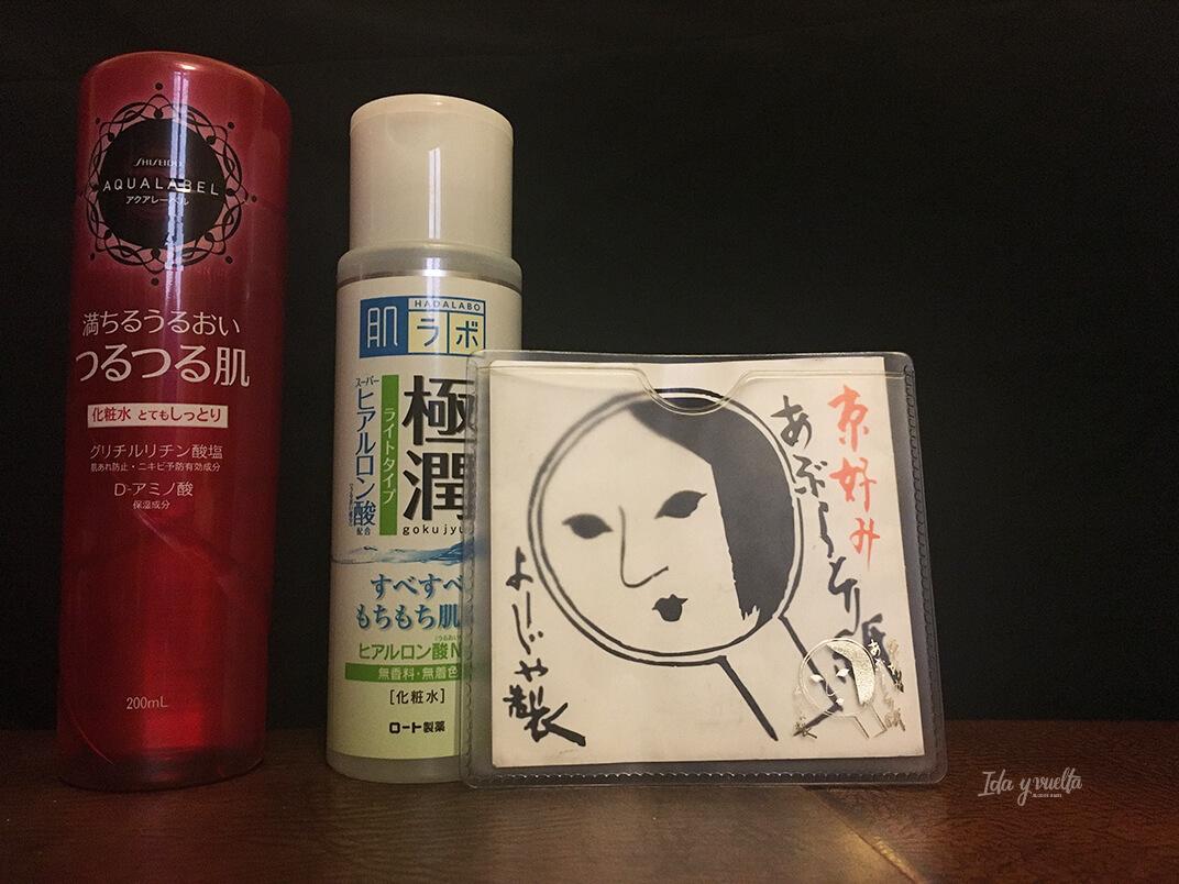 Cosmética japonesa productos varios