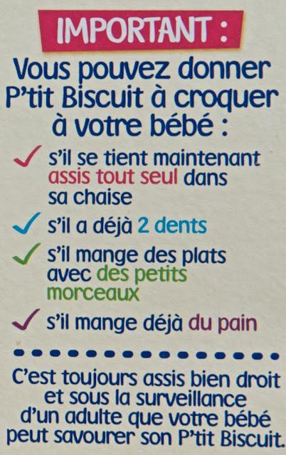 P'tit Biscuit Nestlé - Biscuit bébé - Vanille - Dessert - Avis P'tit Biscuit Nestlé - Goûter - Gâteau - Sucré