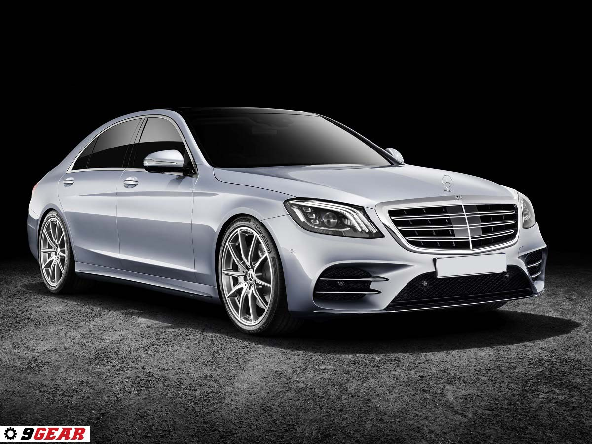 The New Mercedes Benz S Class Celebrates Its World