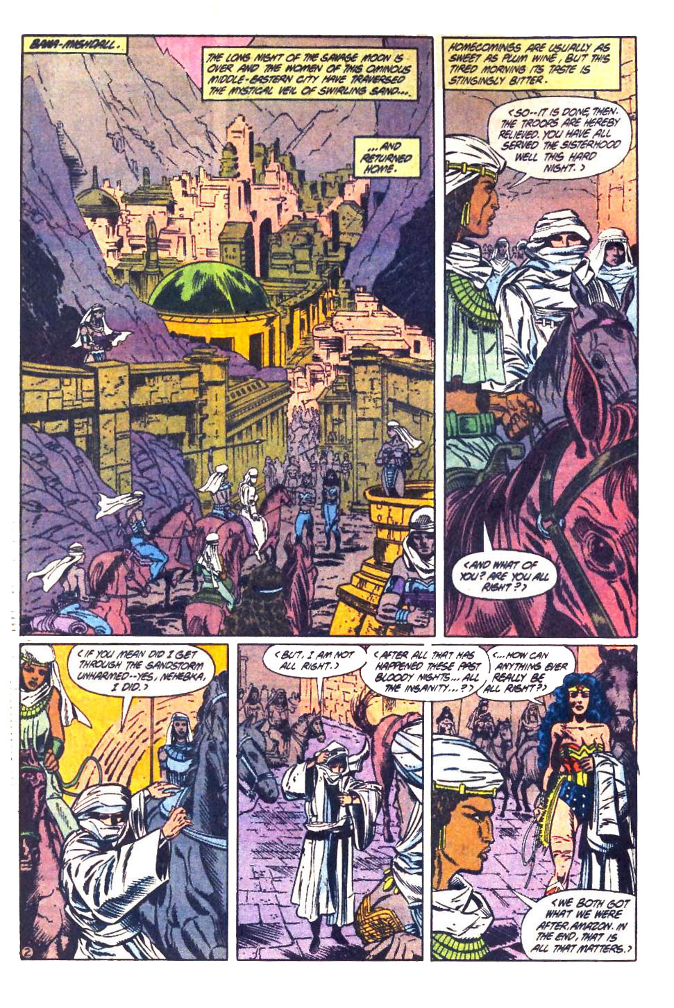 Read online Wonder Woman (1987) comic -  Issue #33 - 3