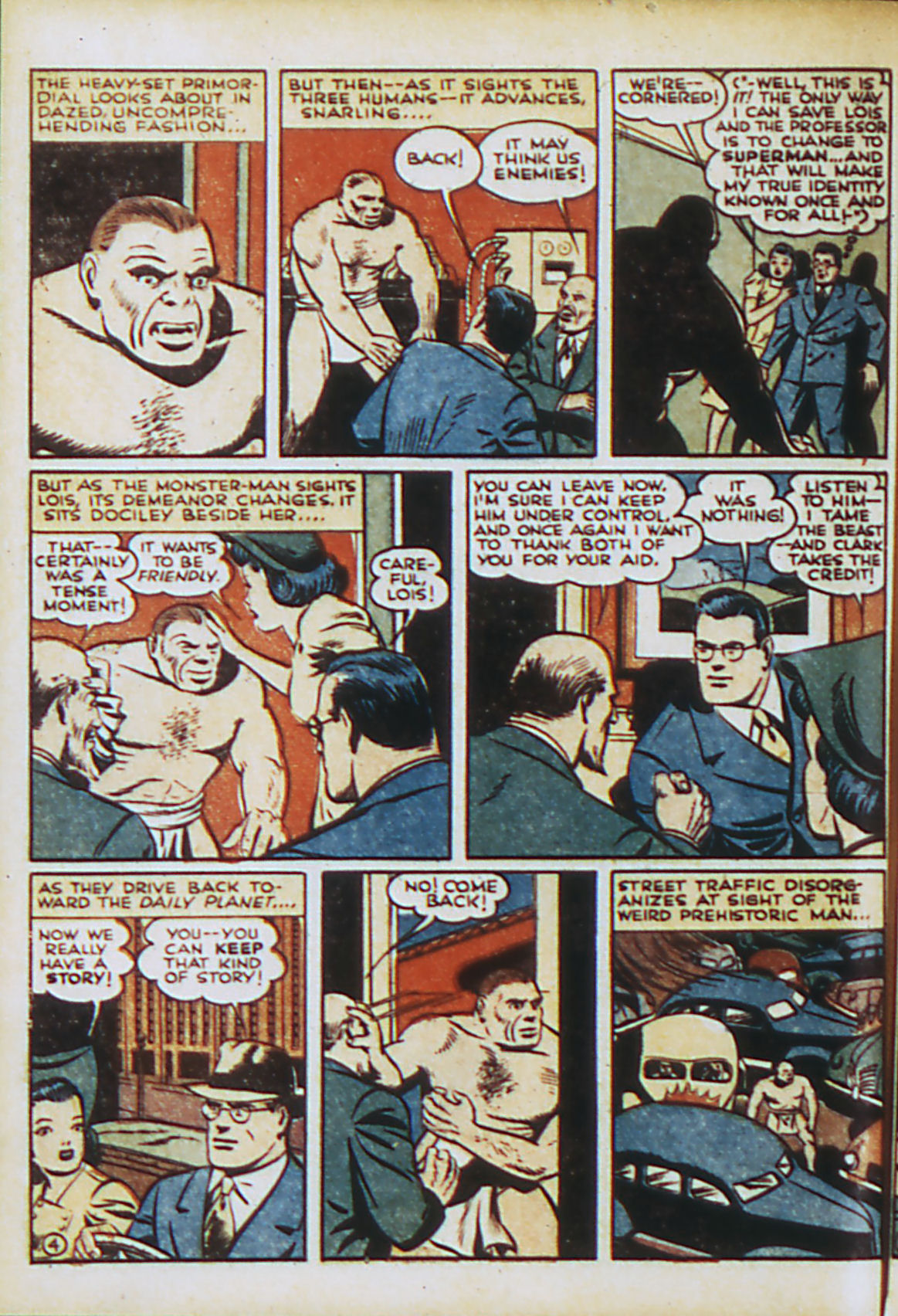 Read online Action Comics (1938) comic -  Issue #44 - 7
