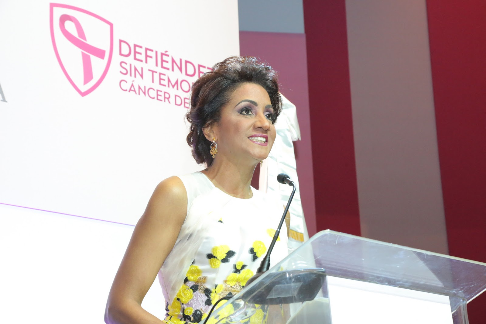 Para prevenir y derrotar el cáncer, Primera Dama llama mujeres dominicanas a estar alertas