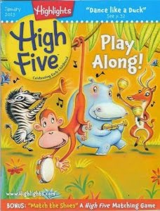 Highlights High Five magazine featured in list of best magazines for preschoolers