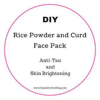 Best Paraben-Free Face Scrub - DIY - Rice Powder and Curd Scrub and Mask