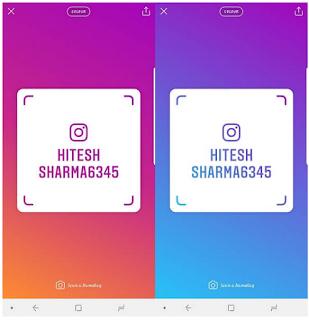 Cara Pakai Fitur Instagram Nametag Untuk Menemukan / Mengikuti Orang