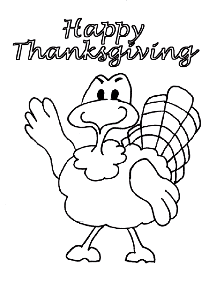 Turkey coloring pages for kids | Coloring Pages For Kids