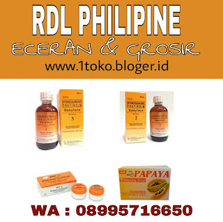 Image of RDL PHARMACEUTICAL BABY FACE TONER ORIGINAL PHILIPPINES HYDROQUINONE TRETINOIN