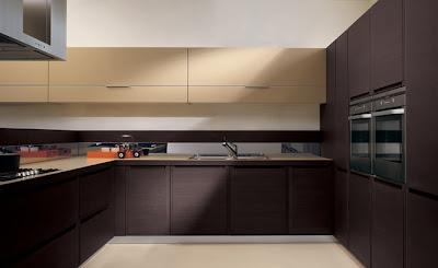 Ini Untuk Menggeln Ruang Dapur Yang Amat Luas Kelihatan Berongga Dengan Pemilihan Kabinet Dari Pilihan Warna Gelap Ianya Akan Menaikkan Imej