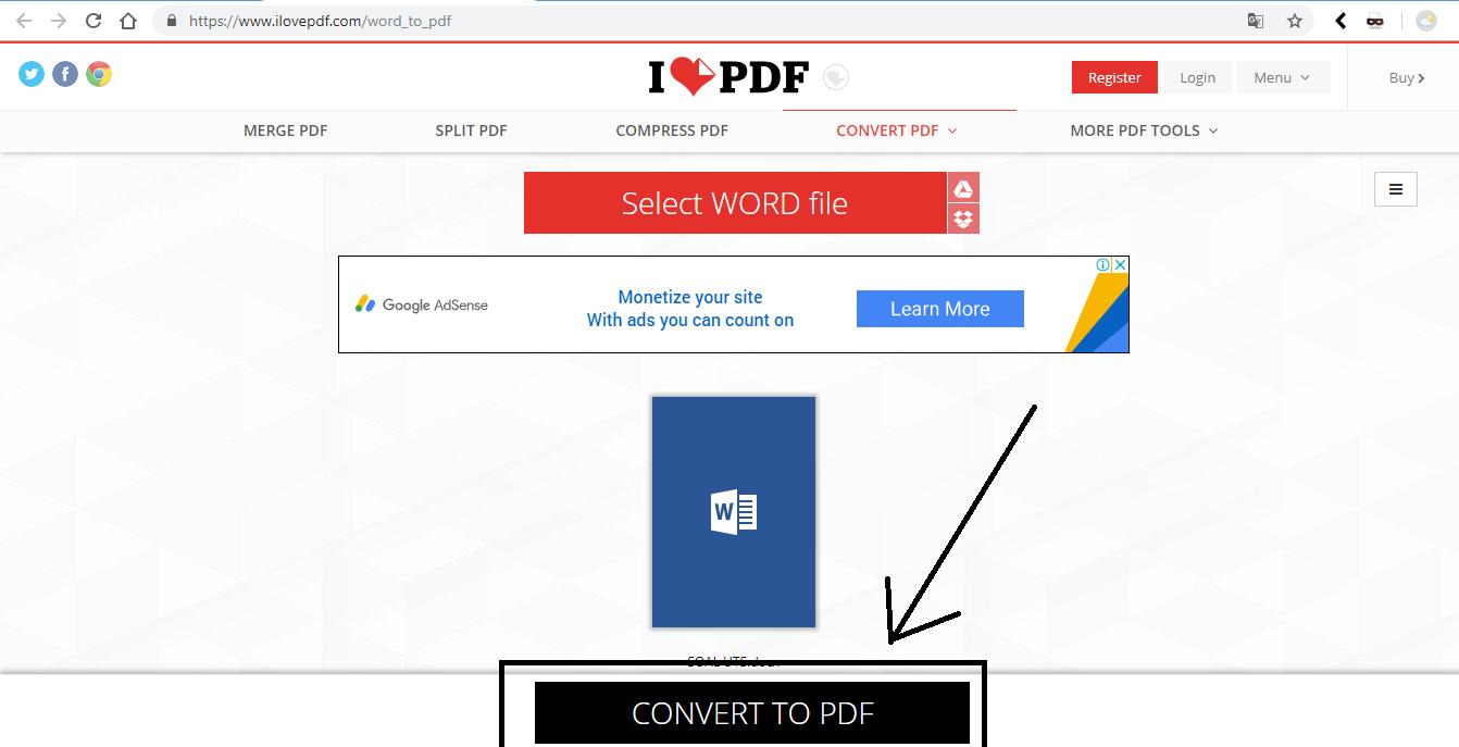 2 Cara Merubah File Microsoft Word (Docx) ke PDF Secara Online dan Offline
