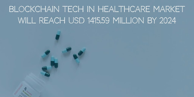 Blockchain Tech In Healthcare Market Will Reach USD 1415.59 Million By 2024